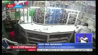Wizi wa mabavu katika duka la Mpesa eneo la Kinoo