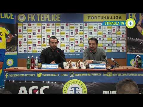 Tisková konference hostujícího trenéra po zápase Teplice - Liberec (30.11.2018)