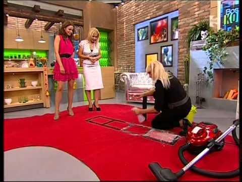 Mezei Katalin - szőnyegtisztító teszt