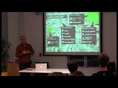 UCL-Energy afternoon seminar: 'Sustainable Connected Cities', Duncan Wilson, Intel