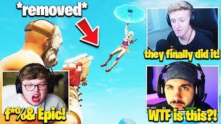 Streamers React to L2 SPAM *REMOVED* and AIM ASSIST *NERF* in Fortnite! (Season 10)
