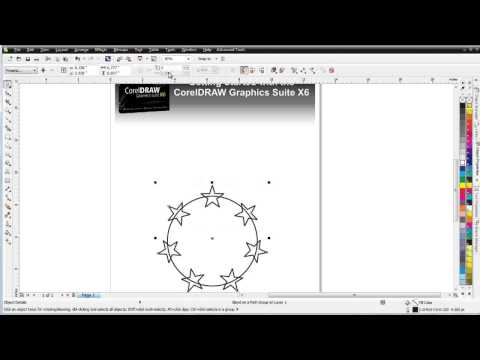 CorelDraw Tutorial 185 CorelDRAW X6 for beginners the Interactive Blend Tool