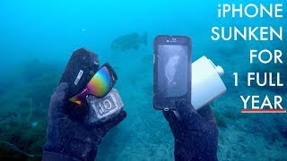I Found an iPhone 8 After Underwater for 1 Year - Will It Work?