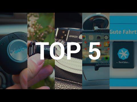 TOP 5 Technik Auto Gadgets!