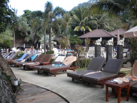 The Beautiful Kacha Resort on White Sand Beach Koh Chang  Island, Thailand