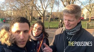 A Common Mistake Made By Missionaries | Shamsi vs Christian | Speakers Corner