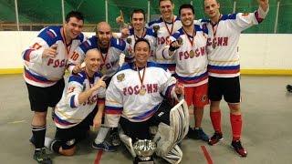 OSHL Final November 7, 2015 Team Russia vs Team Slovenia. Old Skool Hockey League