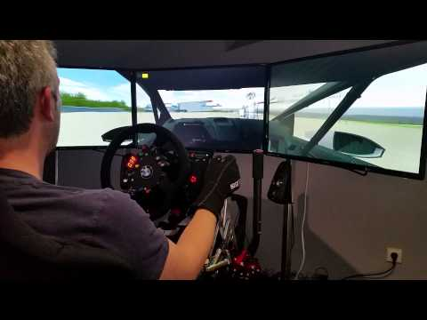 VRX Virtual Rallycross Sever do vouga VW Polo Marklund Motorsport