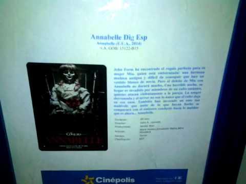 Ver película Annabelle Completa Español Latino HQ