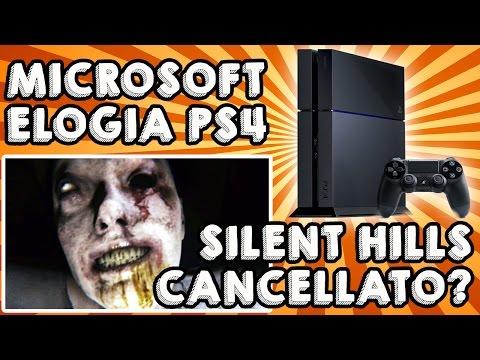 MICROSOFT ELOGIA PS4, SILENT HILLS CANCELLATO?