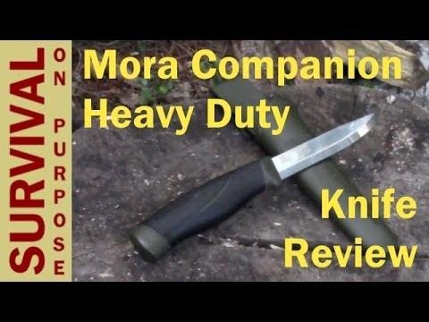 Mora Companion Heavy Duty Knife Review - Survival Knives