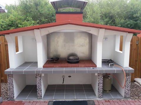 steingrill schnell und einfach selbst bauen der grill videolike. Black Bedroom Furniture Sets. Home Design Ideas