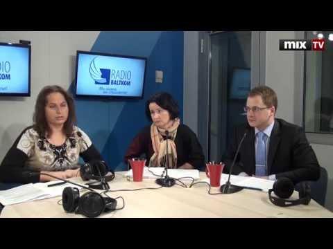 Иво Лецис, Юта Нарышкина, Марина Косарева в программе Утро на Балткоме. MIX TV
