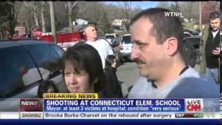 Third-grader describes Shooting at Connecticut Sandy Hook Elementary School