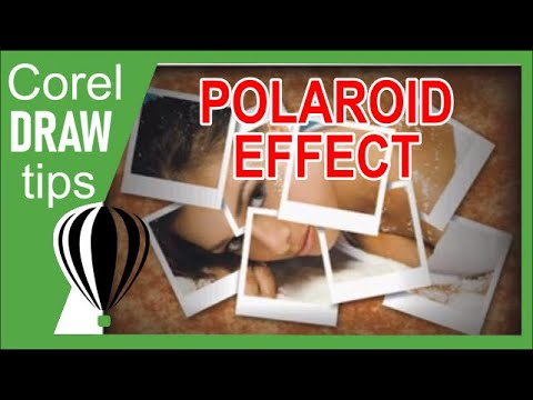 Creating a polaroid collage in CorelDRAW