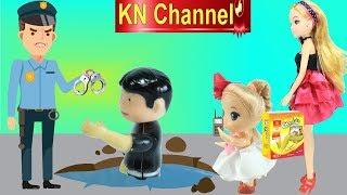 BÚP BÊ KN Channel BẮT TÊN TRỘM XUI XẺO MUA ĐỒ CHƠI