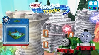 Collect Belle Toys with Green Engine Percy and Henry - Thomas and Friends: Magical Tracks