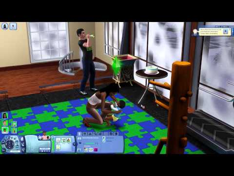Aniversrio da Maria Eduarda - The Sims 3 EP36