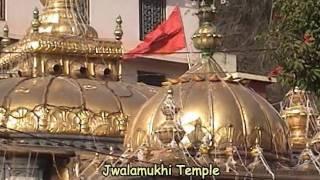 Jwalamukhi (Jwalaji) Temple near Kangra Himachal