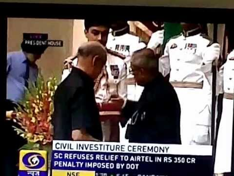 Shriram group head R Thyagarajan receives Padma Bhushan award