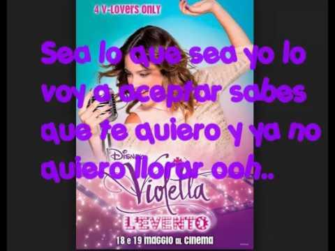 Violetta Como Quieres Que Te Quiera Karaoke