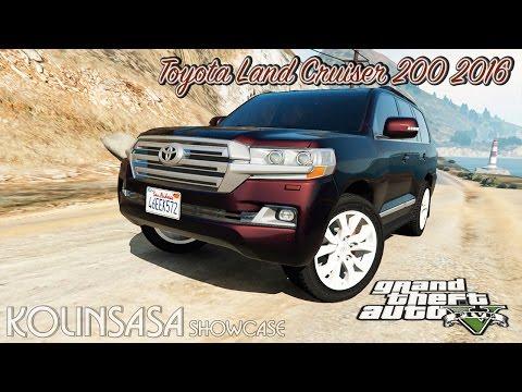 Toyota Land Cruiser 200 2016 v1.1