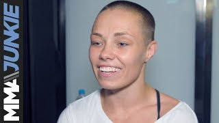 UFC 237: Rose Namajunas didn't know what to expect from crowd, happy to be performing for them