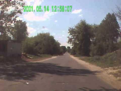моя авария,15 мая 2013 городцы-трубчевск брянская обл