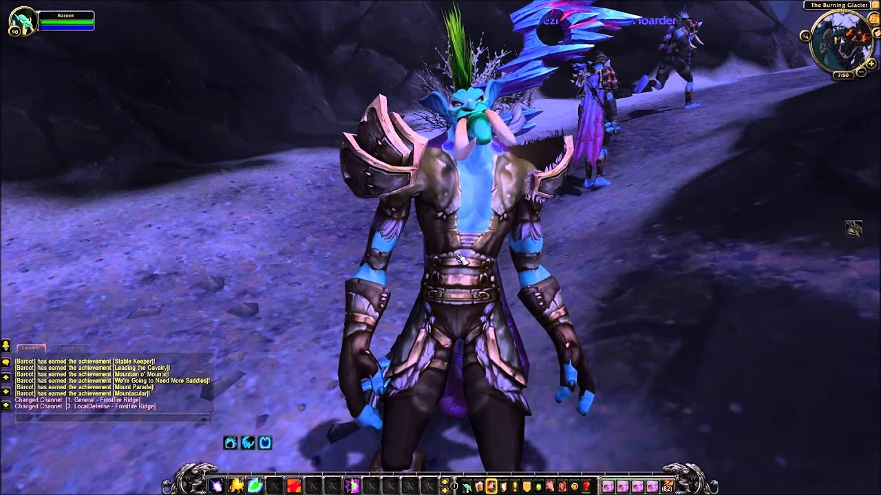 Wow human and night elf sexy picture