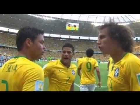 #Brasil2014 : Brasil 2 Vs 1 Colombia : Partido en Vivo - On line - 4 de Julio - Relatos - 1/4 Final