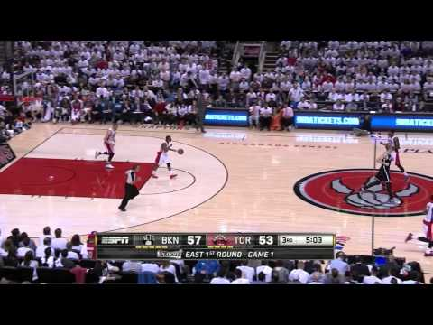 Joe Johnson Full Highlights at Raptors 2014 Playoffs East R1G1 - 24 Pts, 8 Reb