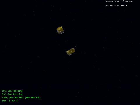 Dos naves espaciales volarán en formación por primera vez con precisión milimétrica