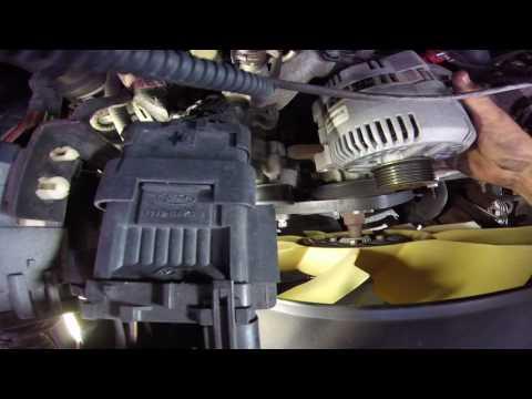 ford econoline 4.6 5.4 alternator replacment  (e150-e250-e350)