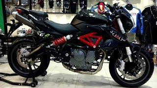 Benelli TNT 600i FULL REVIEW SOUND TEST & SELF START TEST ON PK BIKES