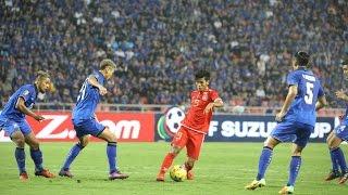 Aung Thu vs Thailand AFF Suzuki Cup Semi final  Second leg 2016 HD