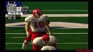 ESPN NFL 2K5 Demo Games | KC @ BAL | ESPN Sunday Football