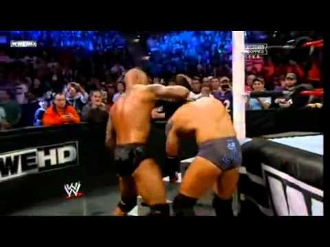 Wwe  Tlc 2011 Randy Ortan Vs Wade Barrett Tabels Full Match Hd video