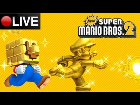 New Super Mario Bros 2 Coin Rush, MK7, & KIU LIVESTREAM