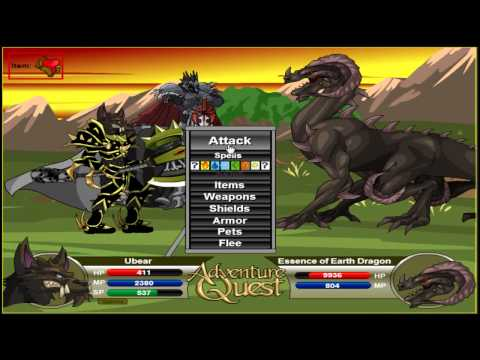 Adventure Quest Ubear - The STRONGEST Build 2013
