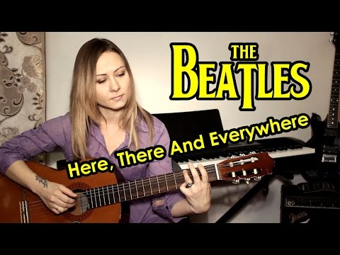 Beatles - Here There And Everywhere (гитара)