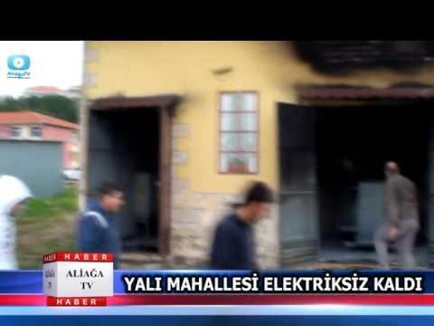 YALI MAHALLESİ ELEKTRİKSİZ KALDI