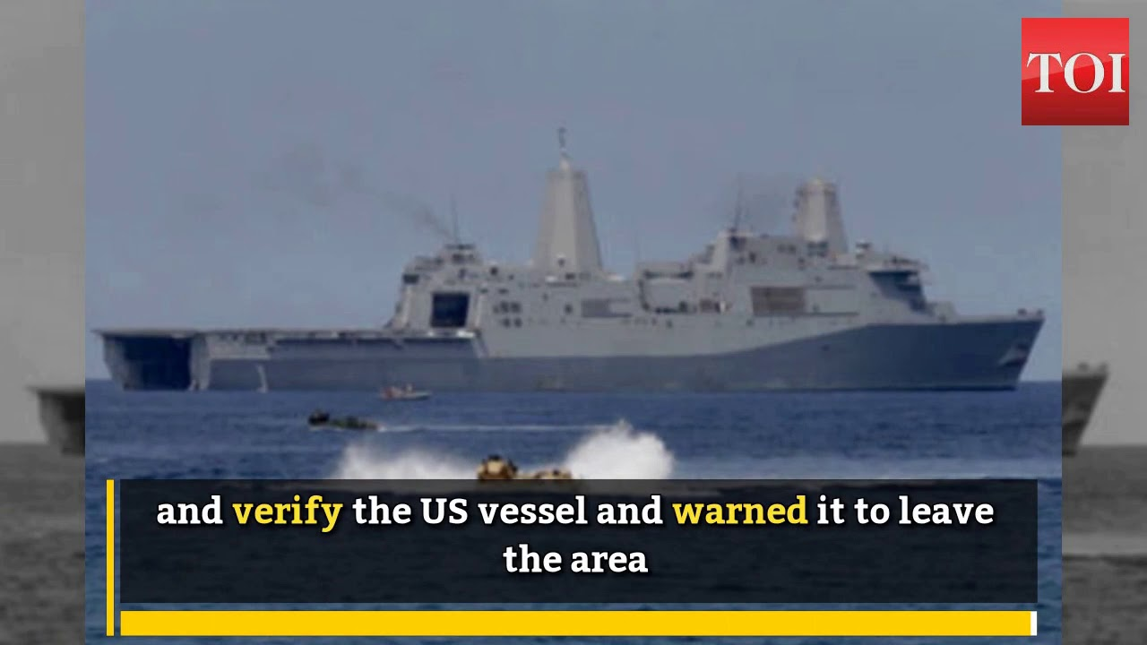 China blames US warship for violating sovereignty near Scarborough
