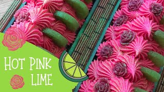 Making Of Hot Pink Lime Cold Process Soap With Zebra Stripes | 🦓  GYPSYFAE CREATIONS