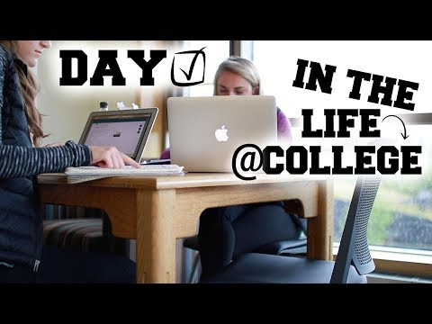 A Day In Life At College University Of Oregon