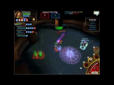 Arcane Legends Pvp Video Friendly 1v1