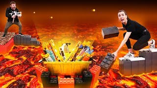 NERF Floor is LAVA Build Off Challenge!