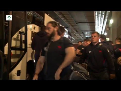 Irish Rugby TV: Ulster Bank League Final Team Arrival
