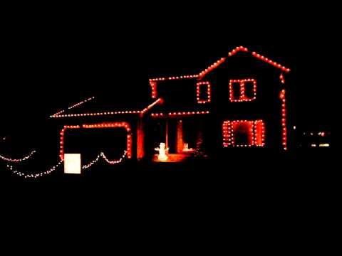 Jingle Bells Techno - Christmas Light Display