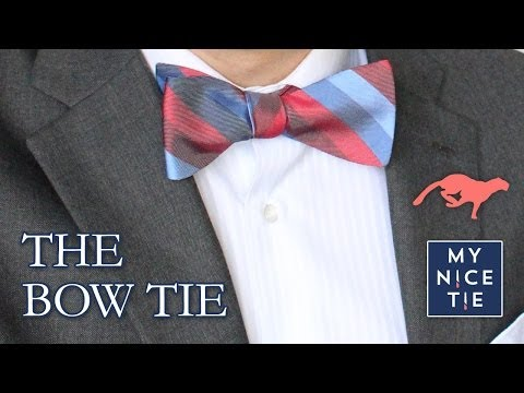 How To Tie a Bow Tie (QUICK) - Quick Review For How To Tie a Bow Tie