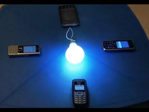 "Free Energy Mobile Generator for light bulb. ""Free Energy""! 